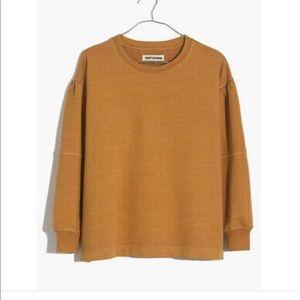 Rivet & Thread Seamed-Sleeve Sweatshirt